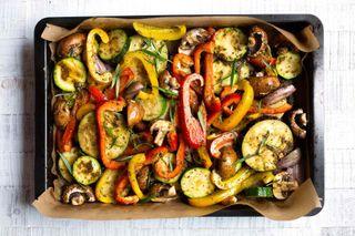Запечённые овощи по итальянски. Фото: kochkarussell.com