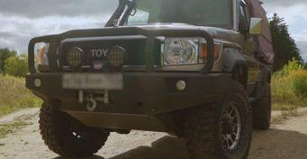 Редкий кузов с«теплым» тюнингом: Представлен Toyota Land Cruiser 79 для зимних путешествий