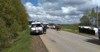 Маршрутка попала в ДТП в Ступинском районе, есть пострадавшие