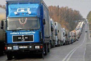 Водителей большегрузов в Москве будут штрафовать за проезд не по магистральным дорогам