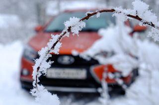 Фото: LADA Vesta вснегу. Источник: a.d-cd.net