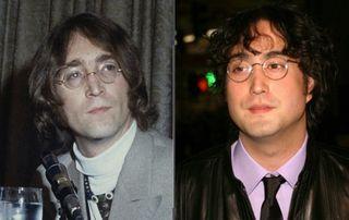 Джон Леннон и его сын Шон / Фото: pokatim.ru