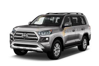 Рендер Toyota Land Cruiser 300, источник: Driver-News