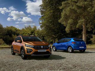 Dacia Sandero Stepway и Sandero нового поколения, источник: Dacia