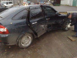 В Туве при столкновении двух автомобилей пострадали 5 человек