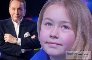 Вот таким глазами Тася смотрела почти все игры КВН с самого раннего возраста. Изображение: Елена Лановая