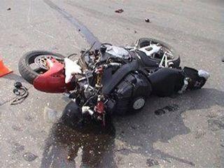 Тройное ДТП под Уфой: итальянец не справился с управлением мотоцикла