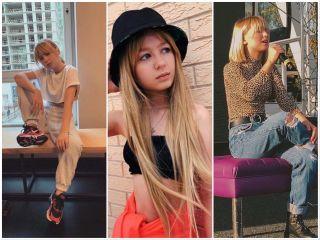 Как и любая девочка подросток Ярослава экспериментирует с волосами. Источник изображений: ВКонтаке Ярослава Дегтярева