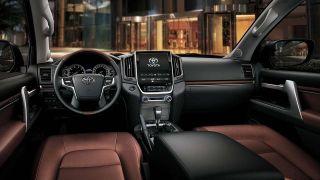 Возможный салон Toyota Land Cruiser 300, источник: Toyota