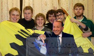 Фото: Масляков выгнал изКВН команду «Свердловск», pokatim.ru