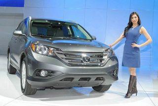 Обновленная версия Honda CR-V появится в середине 2015 года