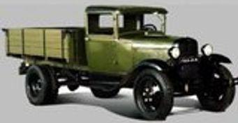 ГАЗ-АА - самый массовый автомобиль в СССР