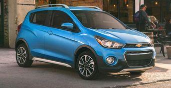 Объявлены долларовые цены на Chevrolet Spark ACTIV 2017