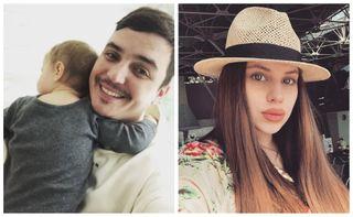 Женя Кузин сдочерью иСаша Артёмова. Источник: Instagram kuzin_zhenya иqestigra.ru
