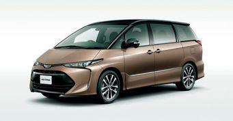 Новое поколение минивэна Toyota Estima будет создано на платформе TNGA