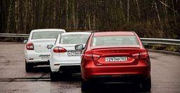 LADA Vesta – Hyundai Solaris – Renault Logan: Сравнение бюджетников с 100 тыс. км пробега