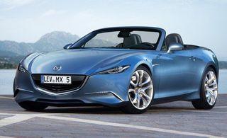 Mazda MX-5 получит революционный дизайн