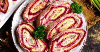 «Шуба» влаваше— Классический салат вновой обёртке