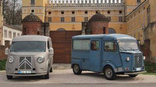 Модель Citroen Jumper переделали в культовый фургон из 40-х годов