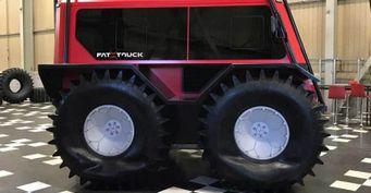 Канадцы скопировали наш «Шерп»: Рассказываем овездеходе FAT Truck