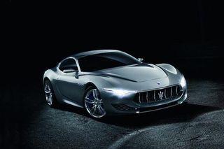 Maserati планирует в 2016 году запустить в продажу спорткар Alfieri