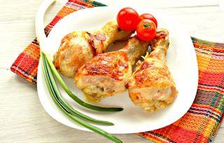 Зажаренные куриные ножки\Источник: photorecept.ru