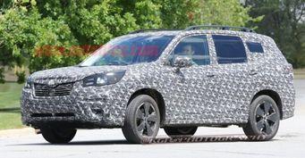 Subaru Forester нового поколения вышел на тестирование