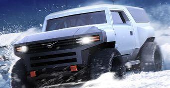 Бронемобиль УАЗ «Армор», способный подвинуть Tesla Cybertrack, показали вСети