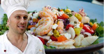 Салатик от Нагиева. Актёр раскрыл рецепт любимого морского блюда