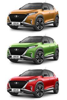 Рендеры LADA Niva набазе Nissan Magnite, источник: Pokatim.ru