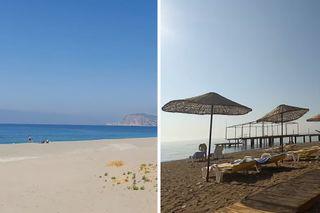 Пустые пляжи Кемера иАланьи всредине августа. Кадры: YouTube
