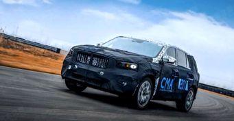 Китайский Volvo восхищает азиатов: Новый кросс Geely KX11 засняли надорожных испытаниях