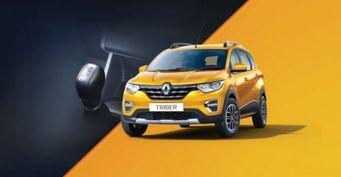 Кроссовер Renault Triber впервые замечен на тестах в Европе