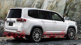 Toyota Land Cruiser 300. Рендер: BestCarWeb