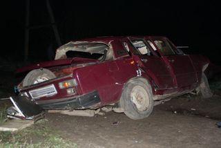 Один человек погиб и три пострадали при ДТП в Омской области