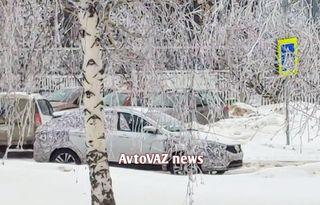 Первый взгляд наVesta SWFL. Фото: «AvtoVAZ News, Вконтакте»