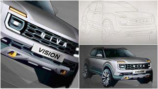 Новый концепт второго поколения LADA Niva от«АвтоВАЗа». Коллаж: Pokatim.
