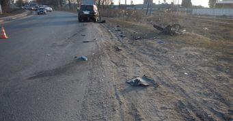 В страшном ДТП погибли мотоциклист и пожилая женщина в Белгородской области