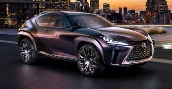 В сети появилась информация о новых кроссоверах от Lexus
