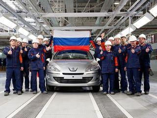 Peugeot российской сборки неуступает европейскому покачеству. Фото: fishki.net
