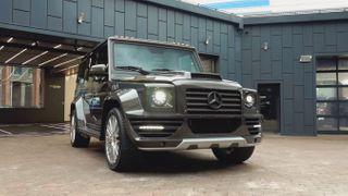 Фото: Mercedes-Benz G55 AMG, источник: Скриншот сYouTube-канала «ПриветТачка»
