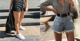Джинсовые шорты с эффектом стройных ног —  как подобрать фасон