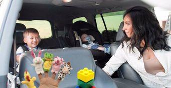 Развлечения на заднем сидении, или как занять ребенка в поездке