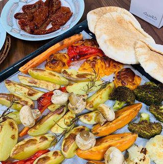 Аппетитная золотистая корочка на овощах | Фото: Instagram @polina_foodbloger
