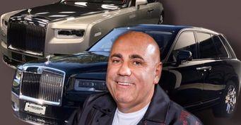 Пригожин в период кризиса приобрёл Rolls-Royce Cullinan на смену старому Ghost