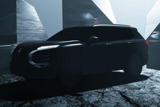 Фото: тизер Mitsubishi Outlander нового поколения, источник: «АвтоРевю»