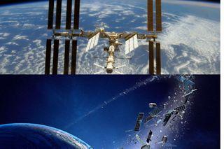 Попробуй разбери, что космический мусор, а что оружие. Источники фото: cdni.rt.com, rl0.ru