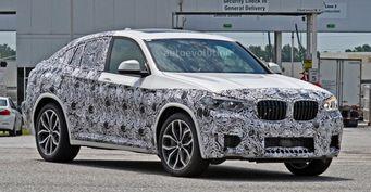 BMW X4 2018 модельного года запечатлели на тестах в Южной Каролине