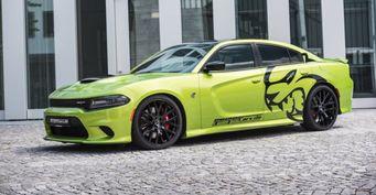 Немецкие тюнеры модернизировали Dodge Charger SRT Hellcat