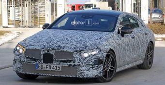 Новое поколение Mercedes-Benz CLS готовится к дебютному показу